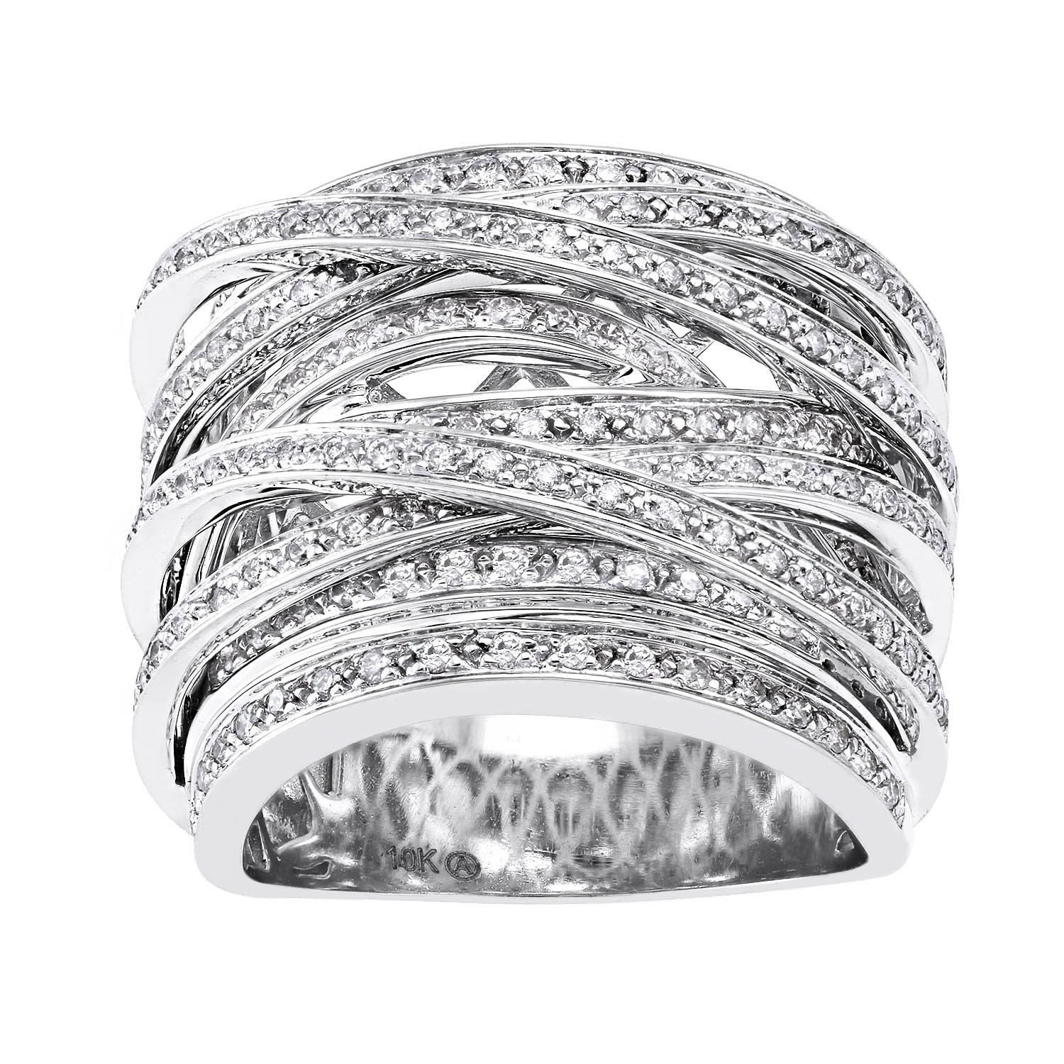 cubic ring rings marquise set channel diamonultra watch round cut and zirconia gold