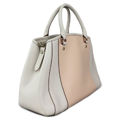 b81c43b4fddfe ... coupon for shop coach small margot carryall apricot crossgrain bag free  shipping today overstock 10192866 136f5