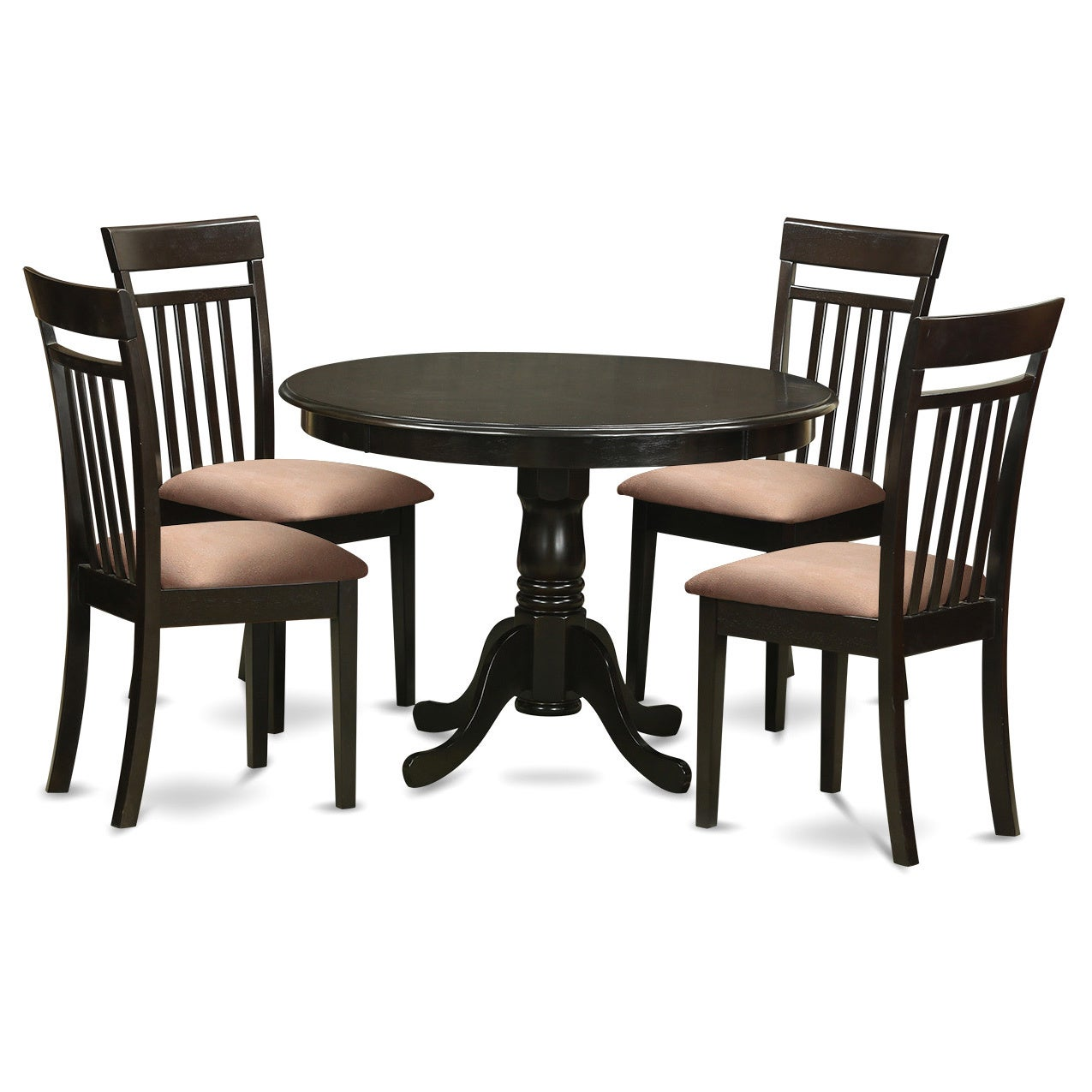 5-Piece Kitchen Nook Table and 4 Dining Chairs - Free Shipping Today ...
