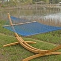 Coastal Blue Presidential Size Original DuraCord Rope Hammock (Stand Not Included)
