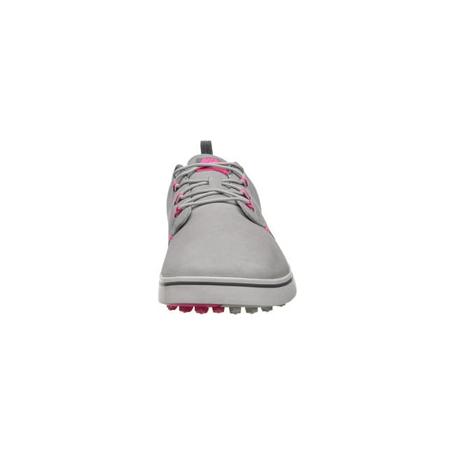timeless design edf53 ed690 Shop Nike Women s Lunar Adapt Golf Shoes 652527-001 Spikeless Grey  Pink   White - Free Shipping Today - Overstock - 10206701