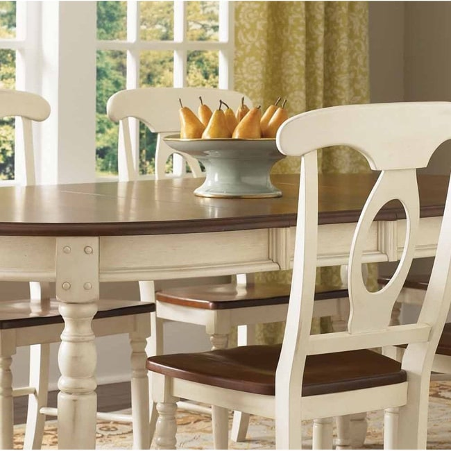 Simply Solid Samaria Wood 7 Piece Dining Collection Free Shipping Today 17331046