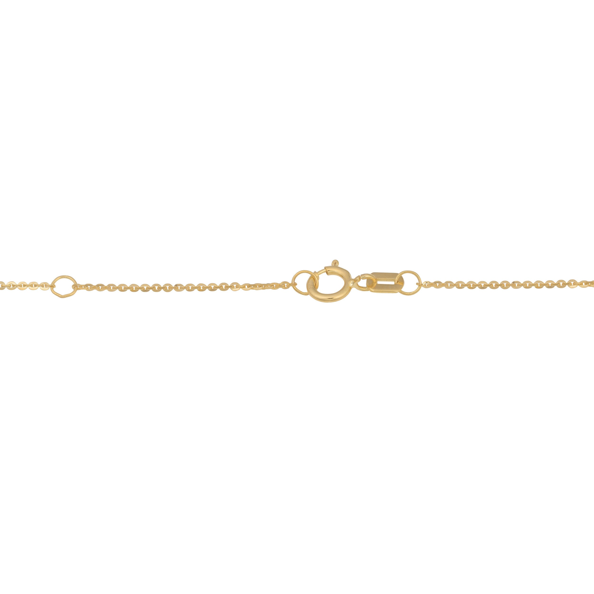 solid r floating gold rose chain beaded heart anklet