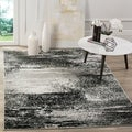 Safavieh Adirondack Modern Abstract Silver/ Multicolored Rug (6' x 9')