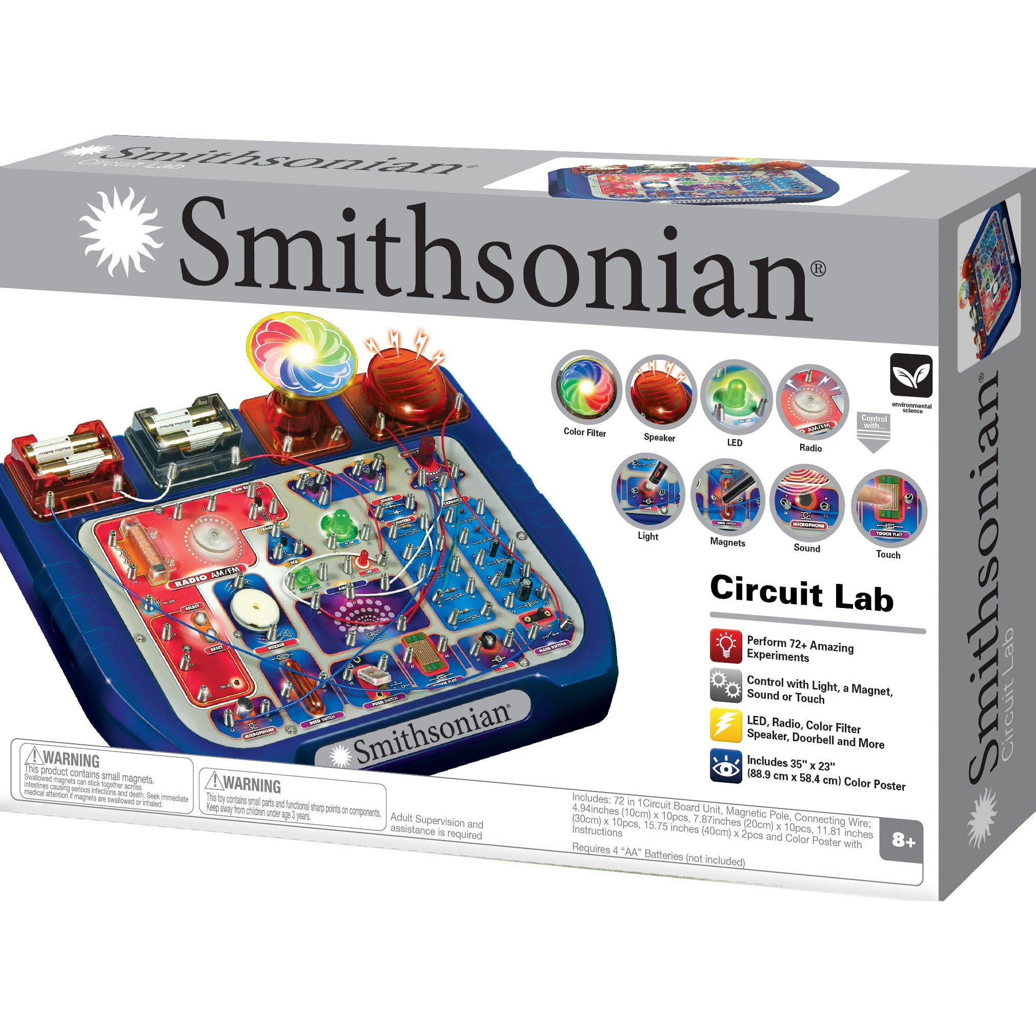 Shop Smithsonian Circuit Lab 72 Free Shipping Today Overstock