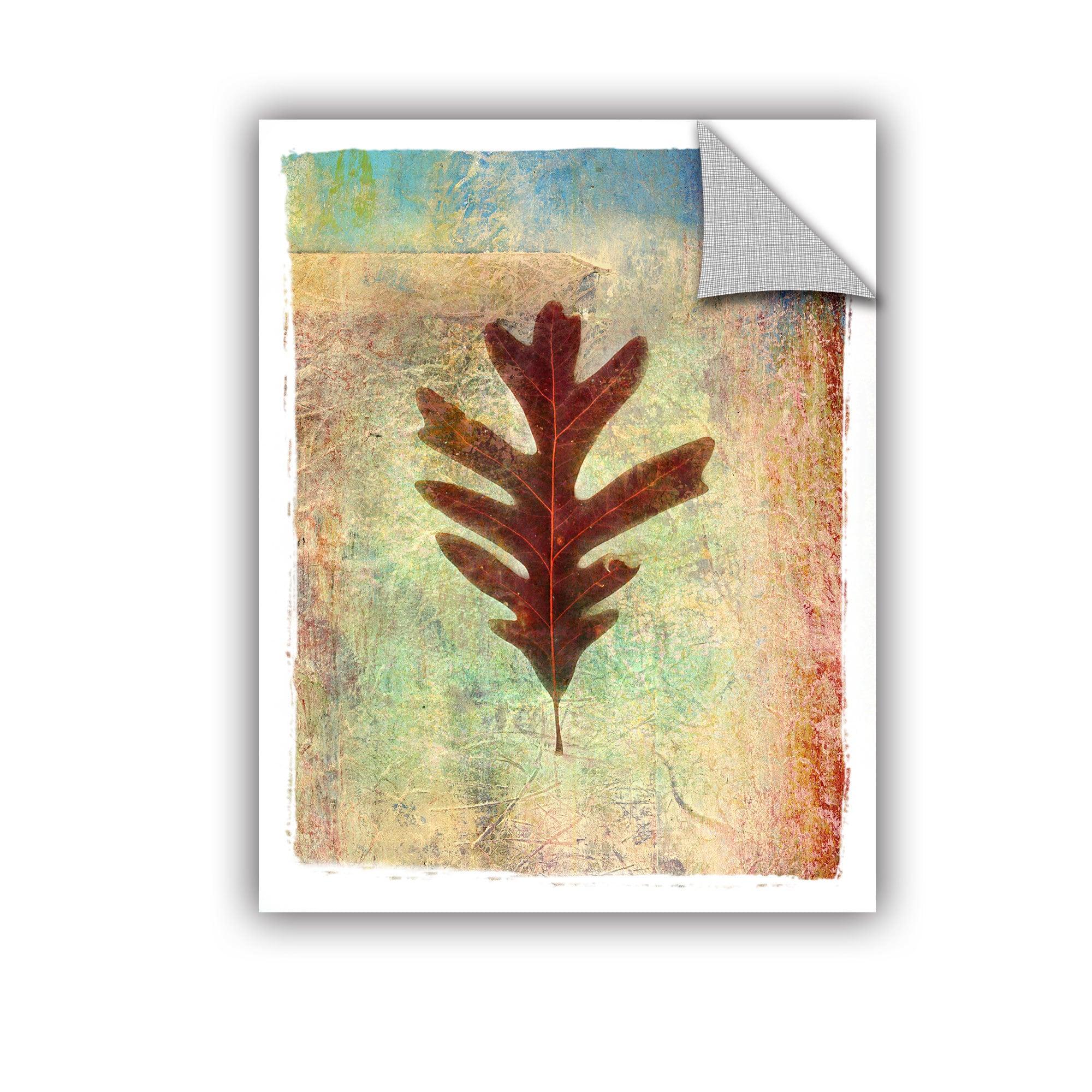 ArtWall Elena Ray \' Leaf Vi \' Art Appeals Removable Wall Art - Free ...