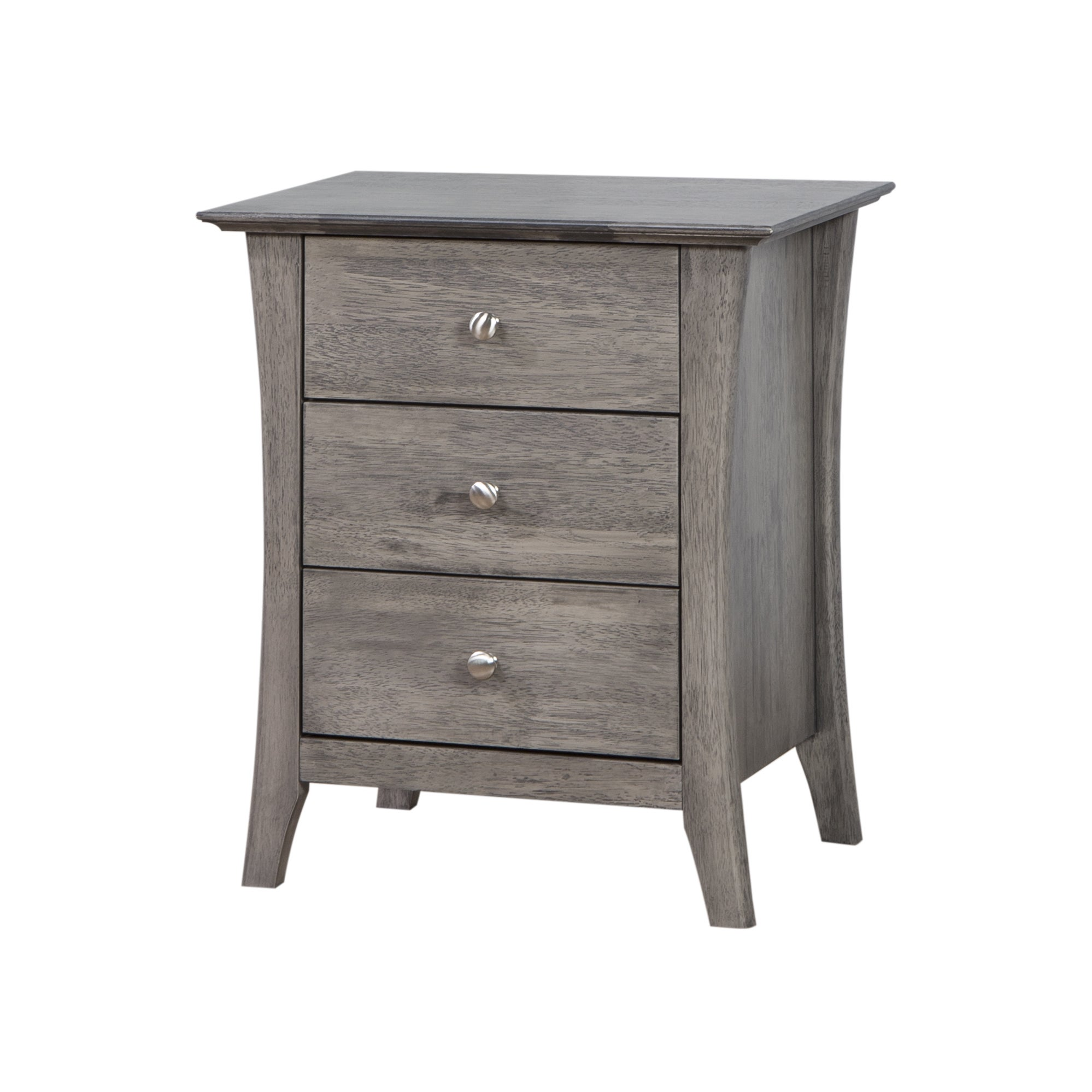 Copper Grove Vermont Stone Dark Burnt Grey 3 Drawer Bedside Table Free Shipping Today 10220624