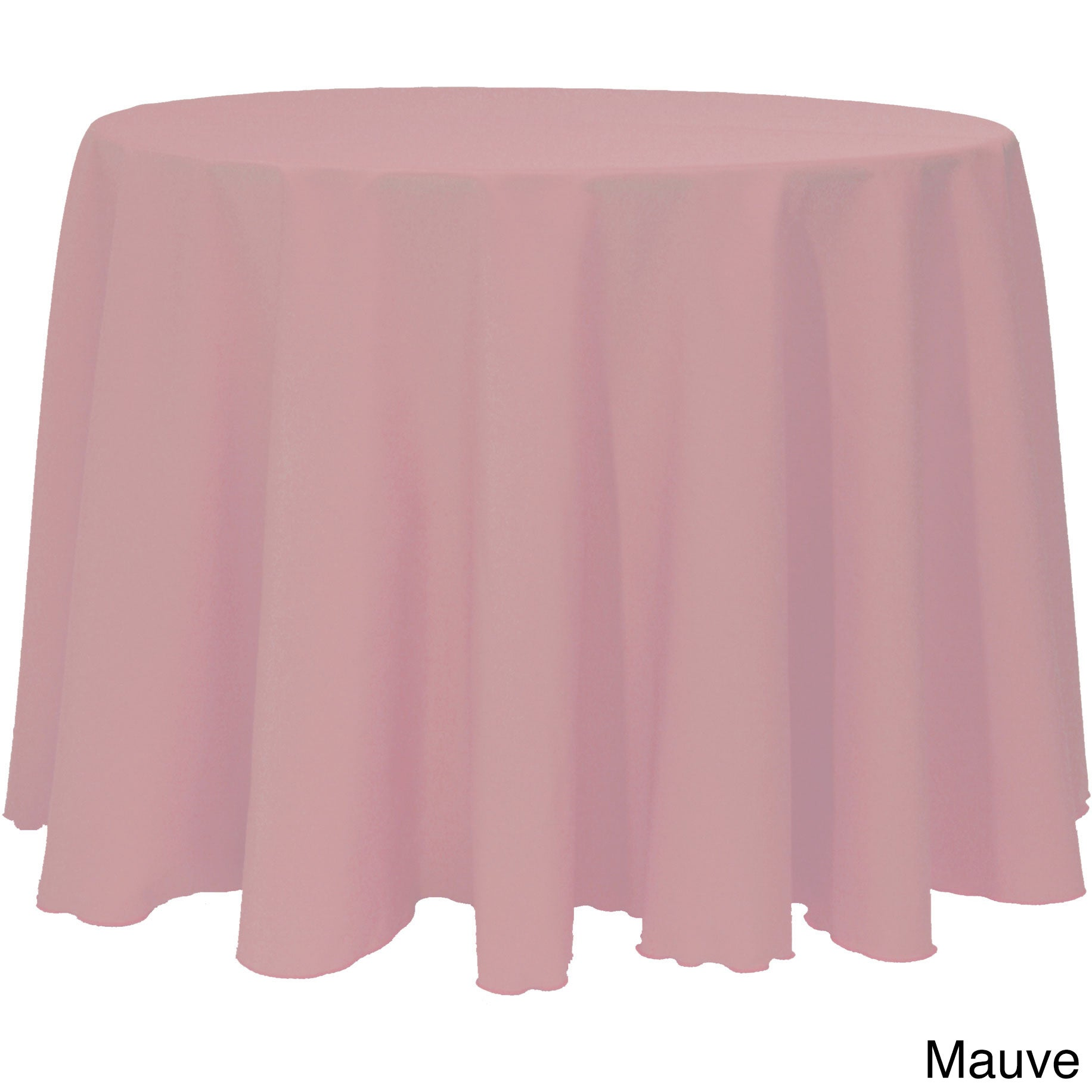 Beau Shop Solid Color 120 Inches Round Vibrant Color Tablecloth   Free Shipping  On Orders Over $45   Overstock.com   10222583