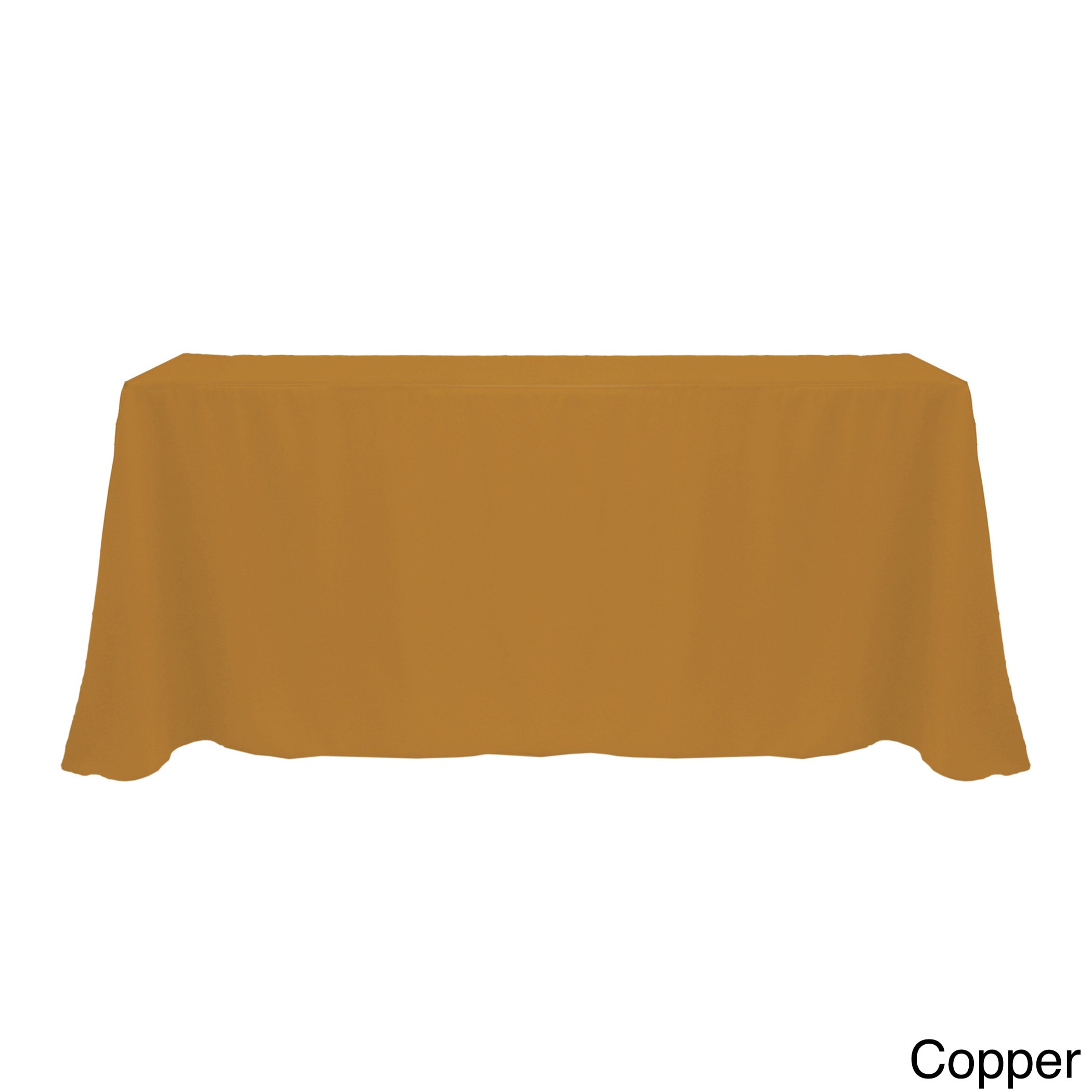 Solid Color 90x132 Inch Vibrant Oval Tablecloth Free Shipping Today 17343847