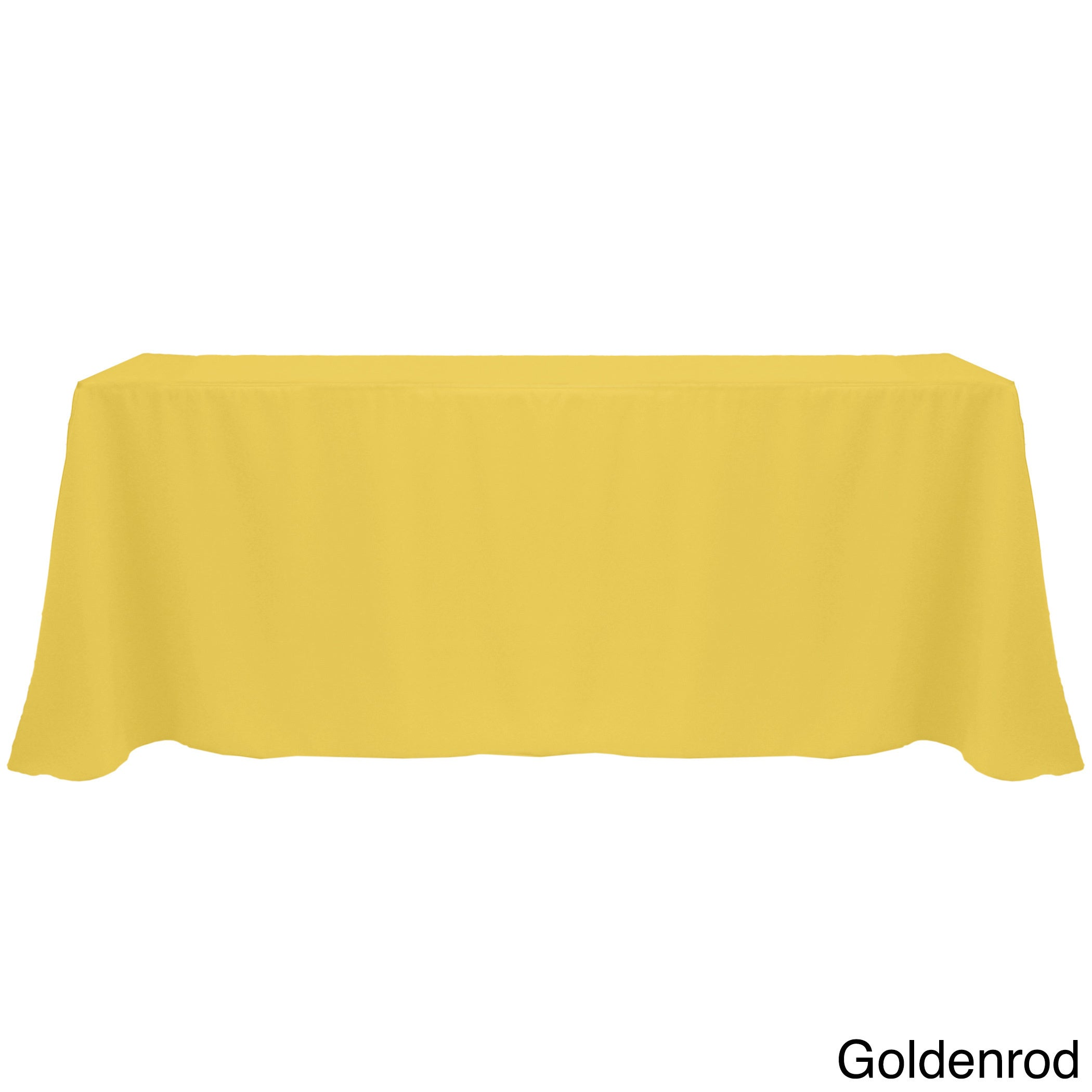 Ordinaire Shop Solid Color 90x132 Inch Vibrant Oval Tablecloth   Free Shipping On  Orders Over $45   Overstock.com   10222599