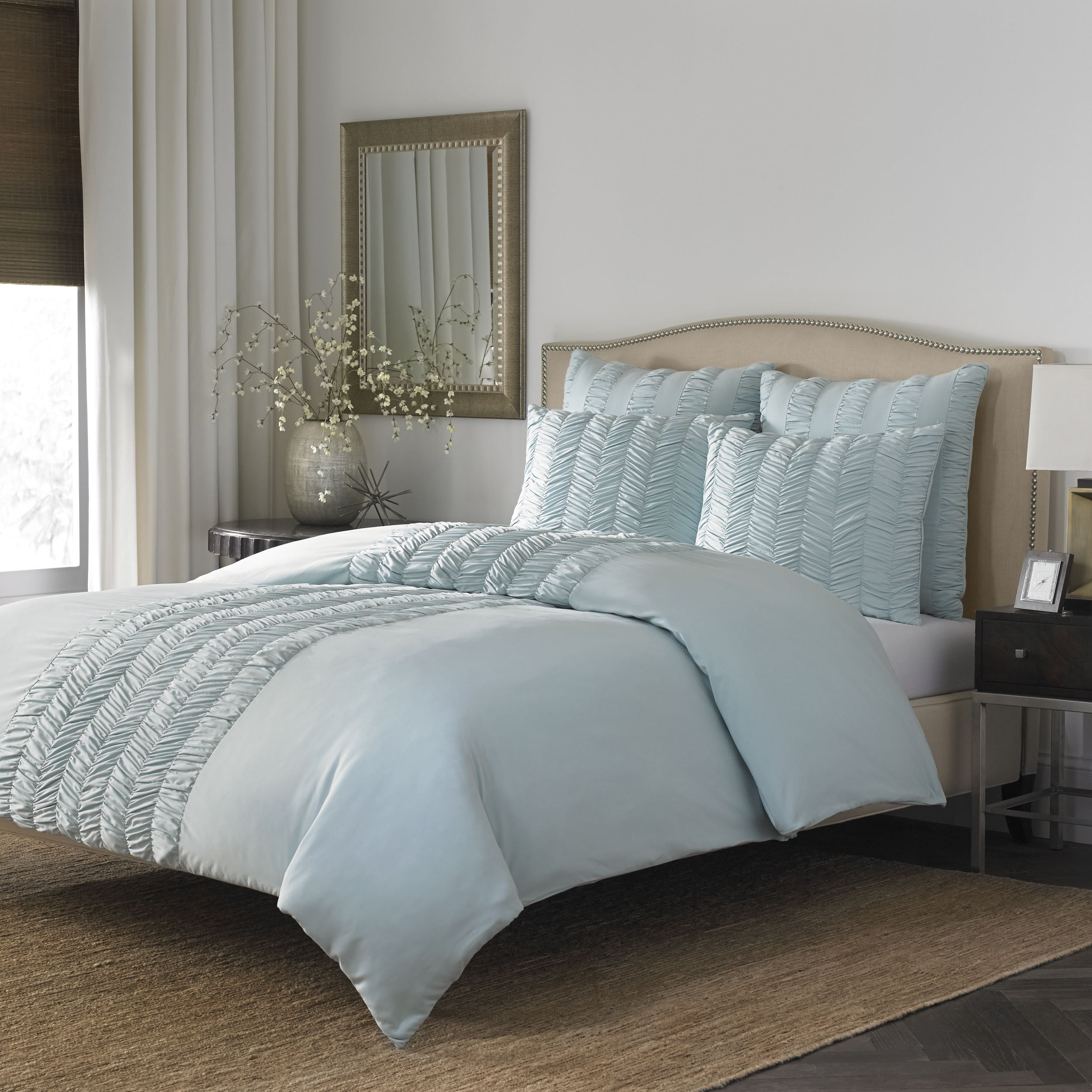 stone bedding magical king amazon blue thinking medallion target cottage ophelia comforter