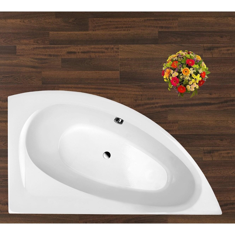 Shop Aquatica Idea Left White Corner Acrylic Bathtub - Free Shipping ...