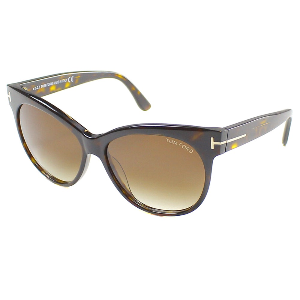 041b84c300a85 Shop Tom Ford Women s TF 330 Saskia 56F Cat Eye Sunglasses - Free Shipping  Today - Overstock - 10227621