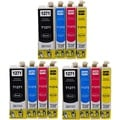 127 T127 Ink for Epson Stylus NX530 NX625 WorkForce 3520 635 3530 3540 7010 645 7510 7520 60 840 545 630 633 845 (12-pack)