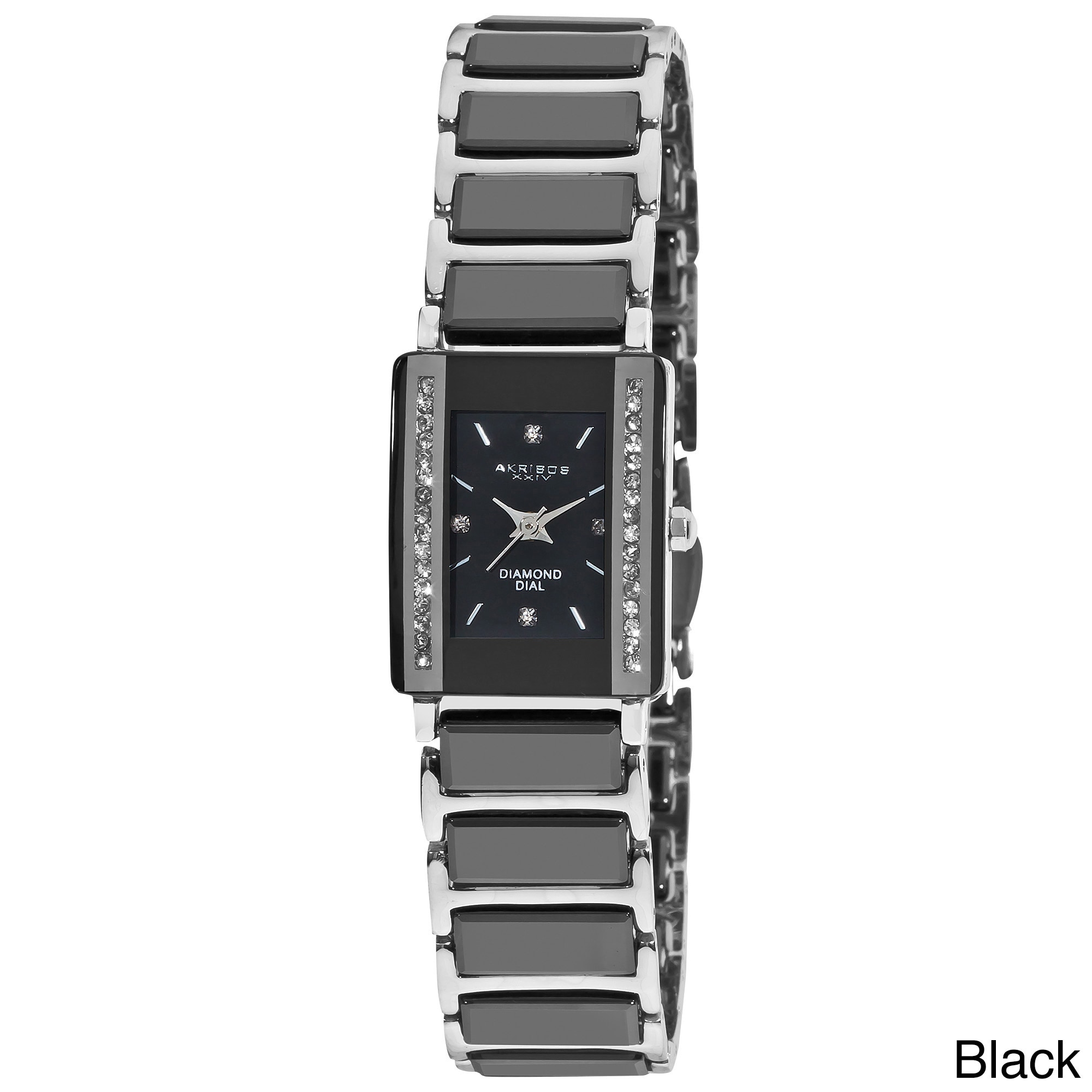 black image stainless marsac watch rectangular mens watches de steel