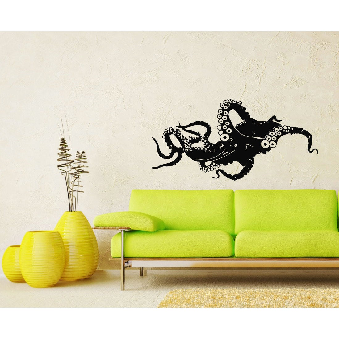 Octopus Vinyl Sticker Wall Art - Free Shipping On Orders Over $45 ...