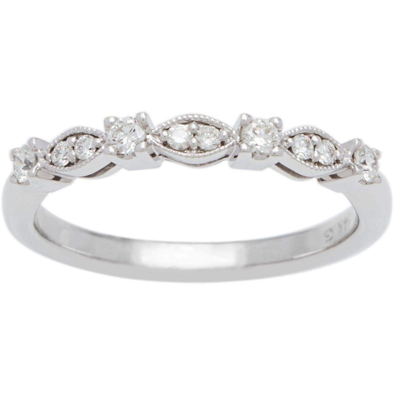 Shop Boston Bay Diamonds 14k White Gold 15ct Tdw Infinity Milgrain