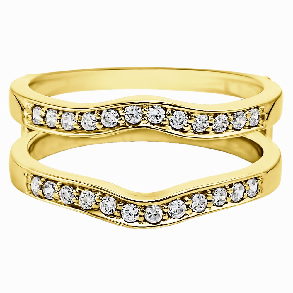 products gold s long set band white channel jewelers diamond