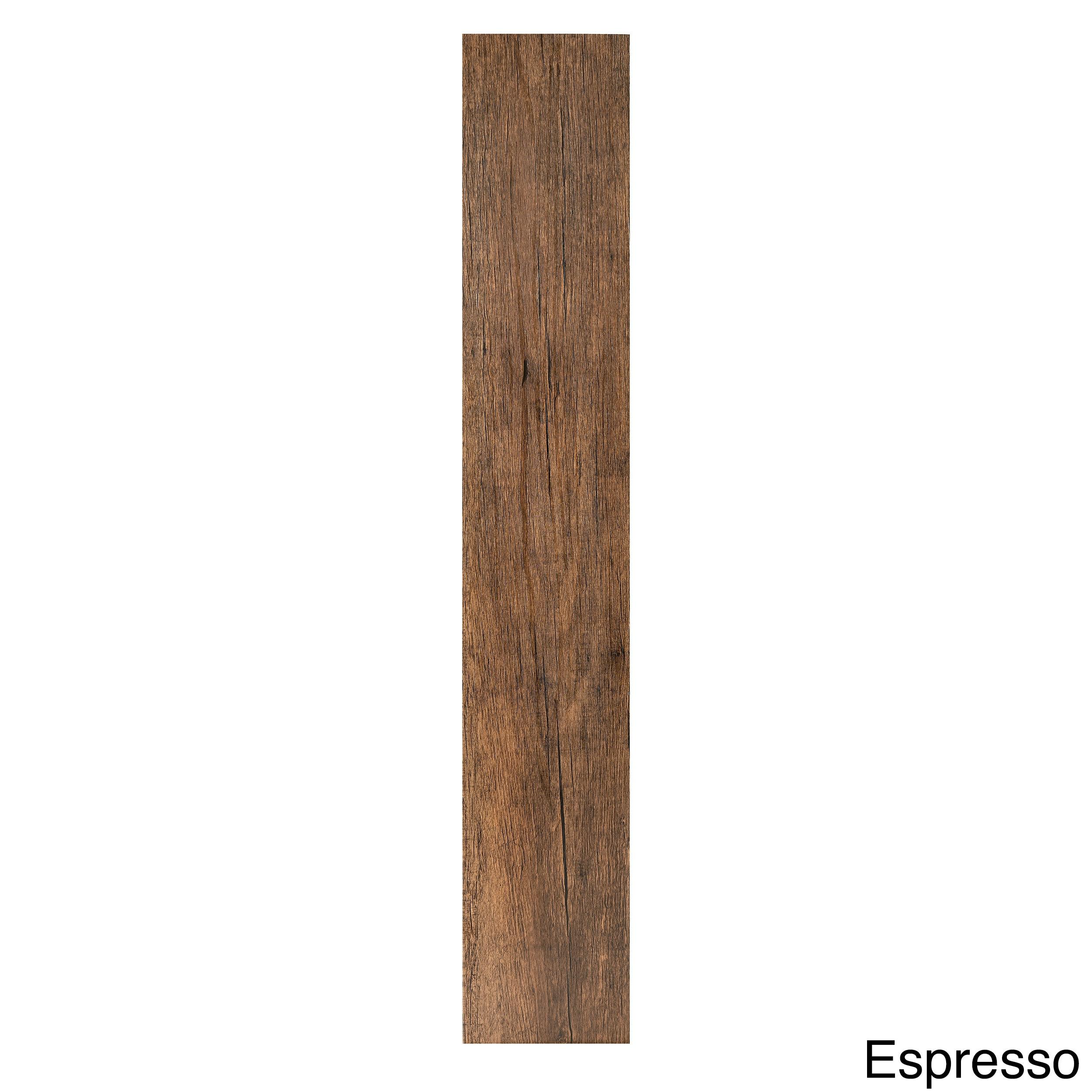 Achim Tivoli II Wood 6x36 Self Adhesive Vinyl Floor Planks Pack of