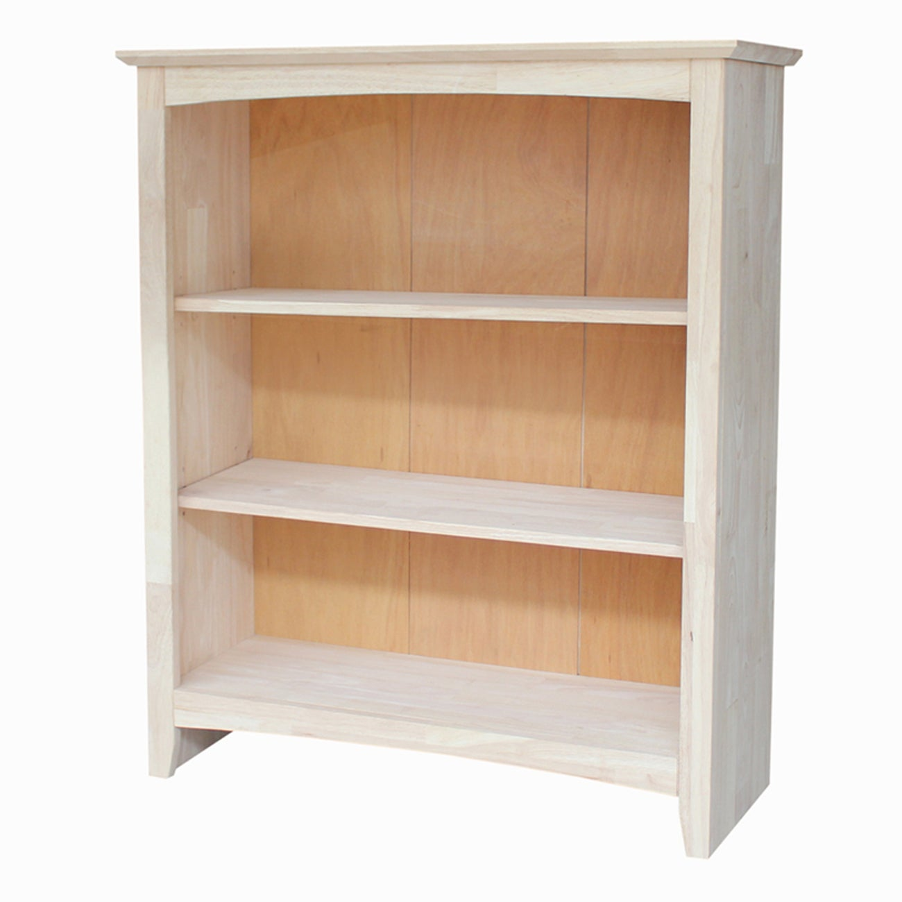 Ready To Finish 36 Inch Shaker Bookcase Free Shipping Today 17356637