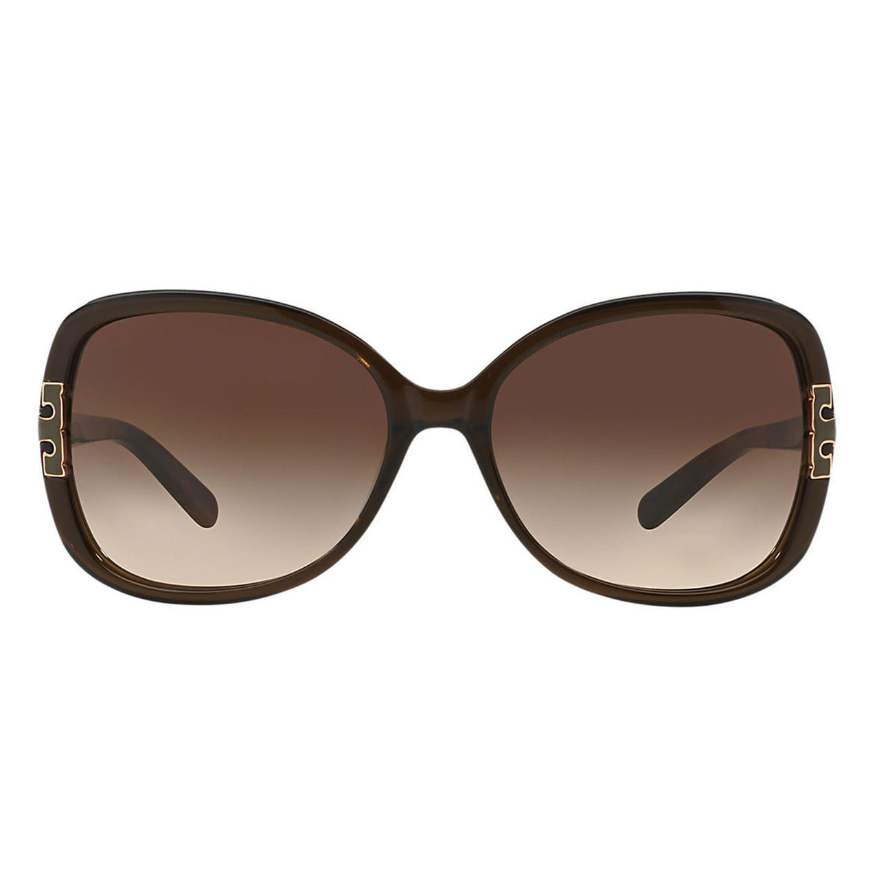 a6253691f107 Shop Tory Burch Women's TY7022 110913 Plastic Square Sunglasses - Olive -  Free Shipping Today - Overstock - 10237865