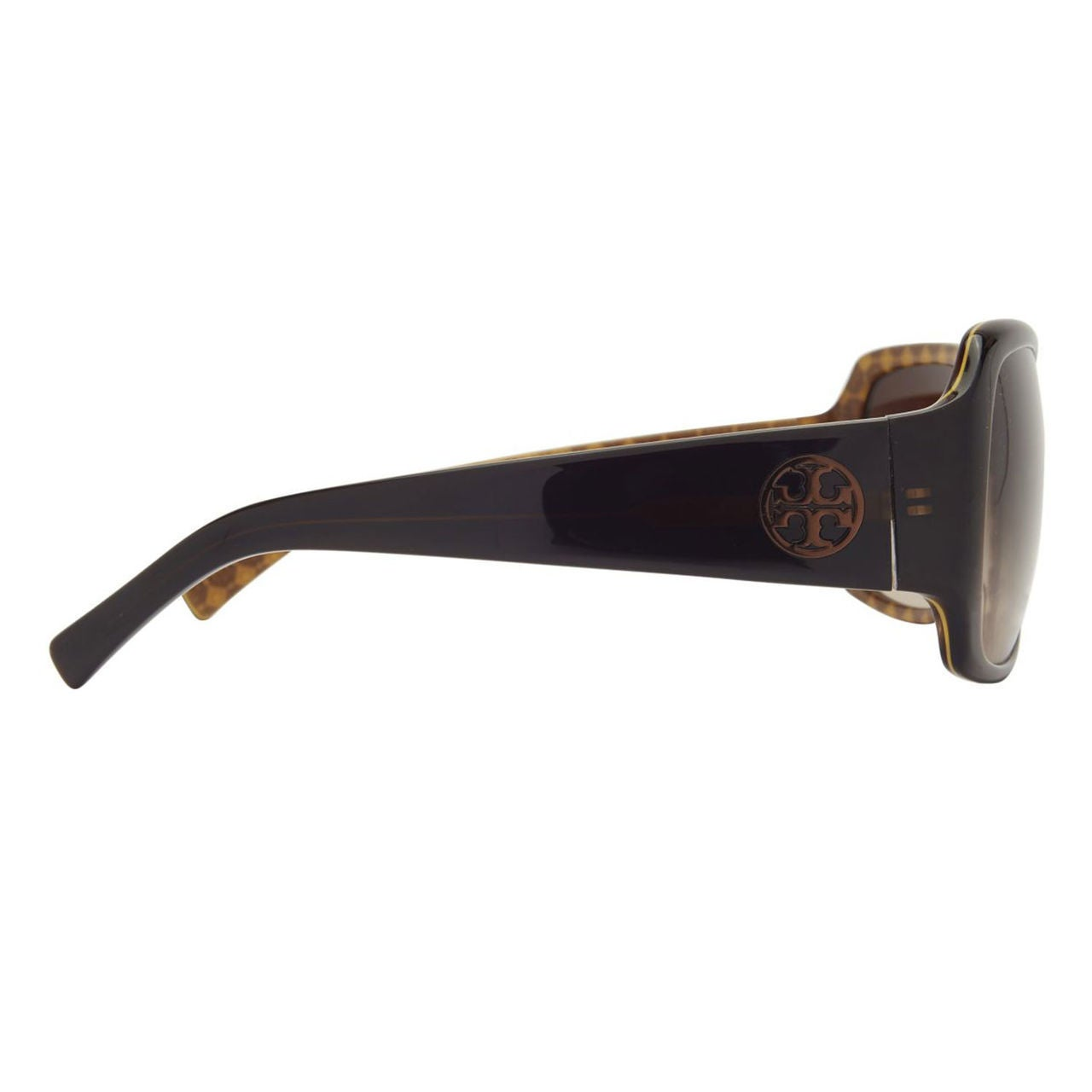 97fefe003b11 Shop Tory Burch Women's TY7004 521/12 Brown Square Plastic Oversized  Sunglasses - Free Shipping Today - Overstock - 10237868