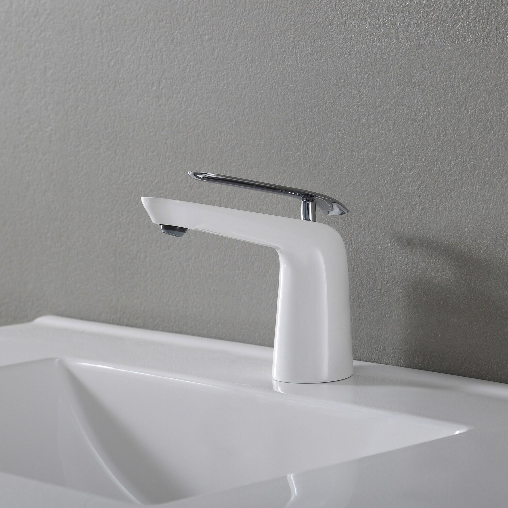 Shop KRAUS Seda Single Hole Single-Handle Basin Bathroom Faucet ...