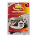 3M Command Brushed Nickel Medium Designer Hooks
