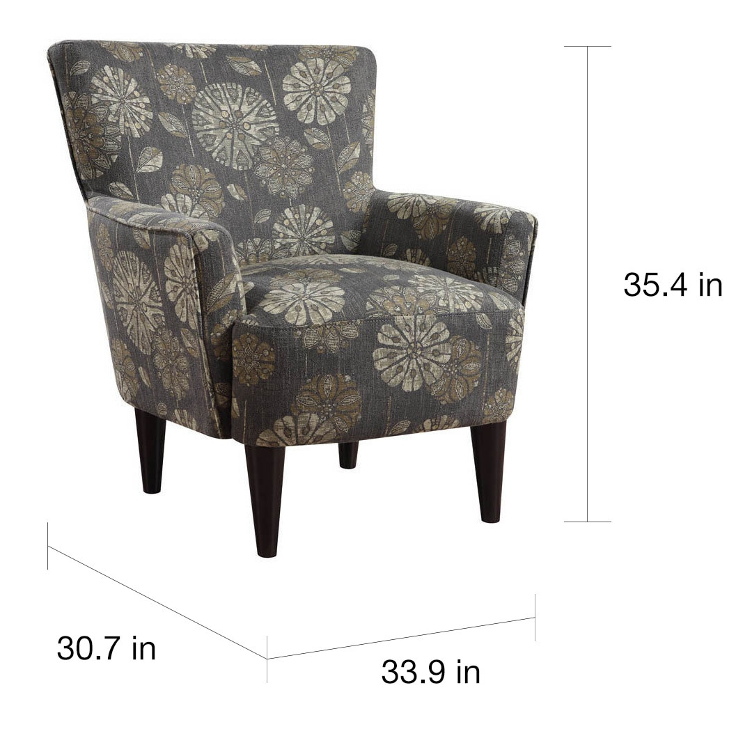 Flower Power Accent Chair - Free Shipping Today - Overstock.com - 17365026