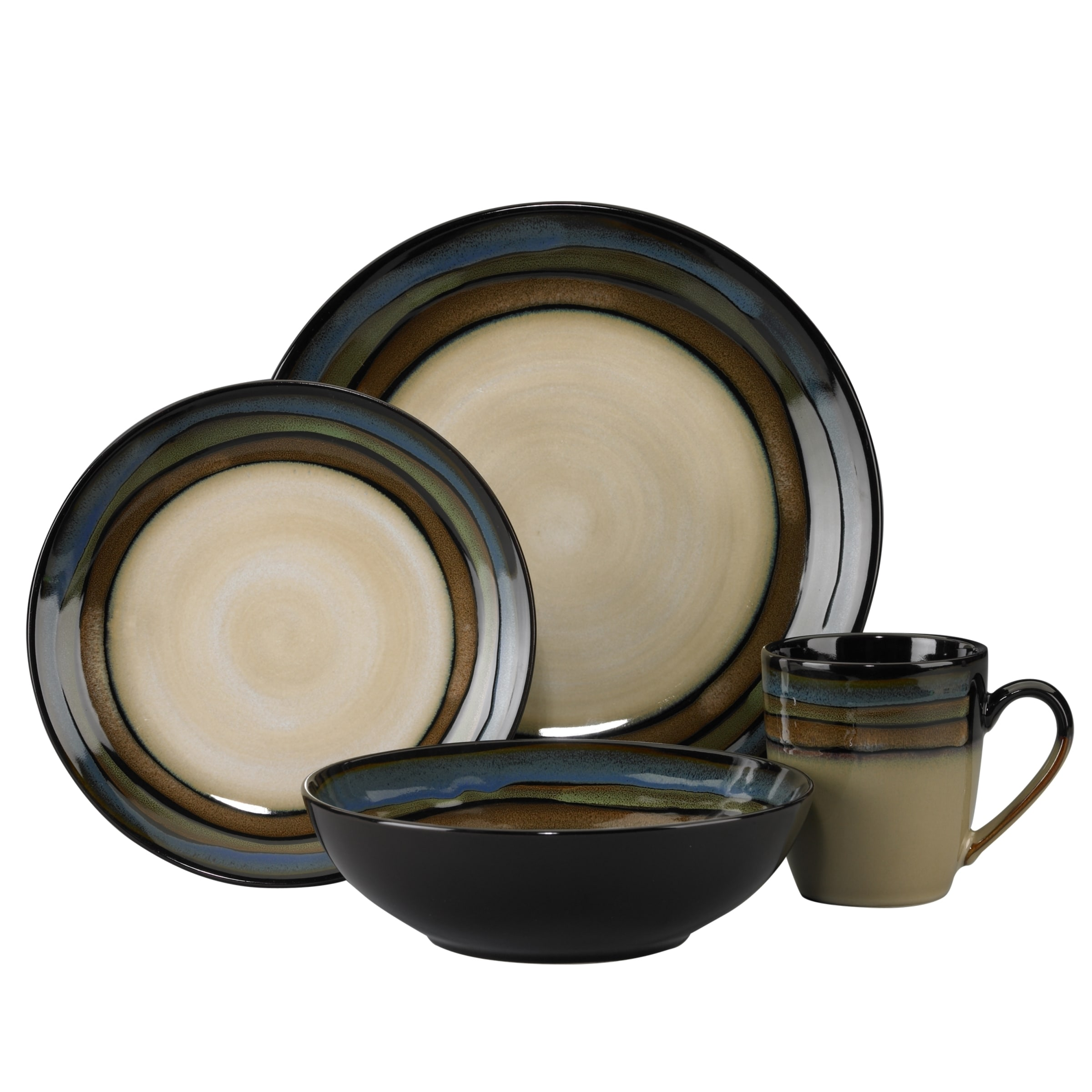 Pfaltzgraff Galaxy 16-piece Dinnerware Set - Free Shipping Today - Overstock - 17366163  sc 1 st  Overstock & Pfaltzgraff Galaxy 16-piece Dinnerware Set - Free Shipping Today ...