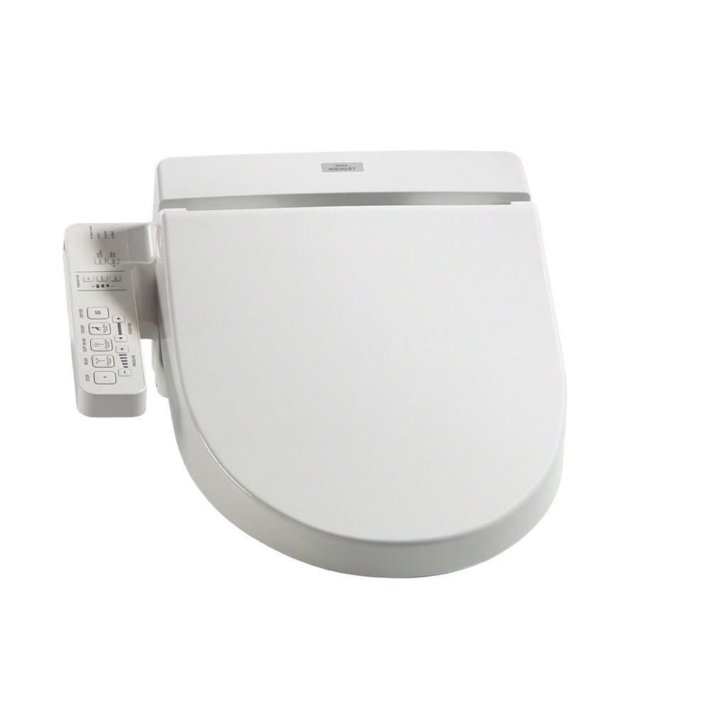 Shop Toto Washlet C100 Elongated Bidet Toilet Seat with PreMist ...