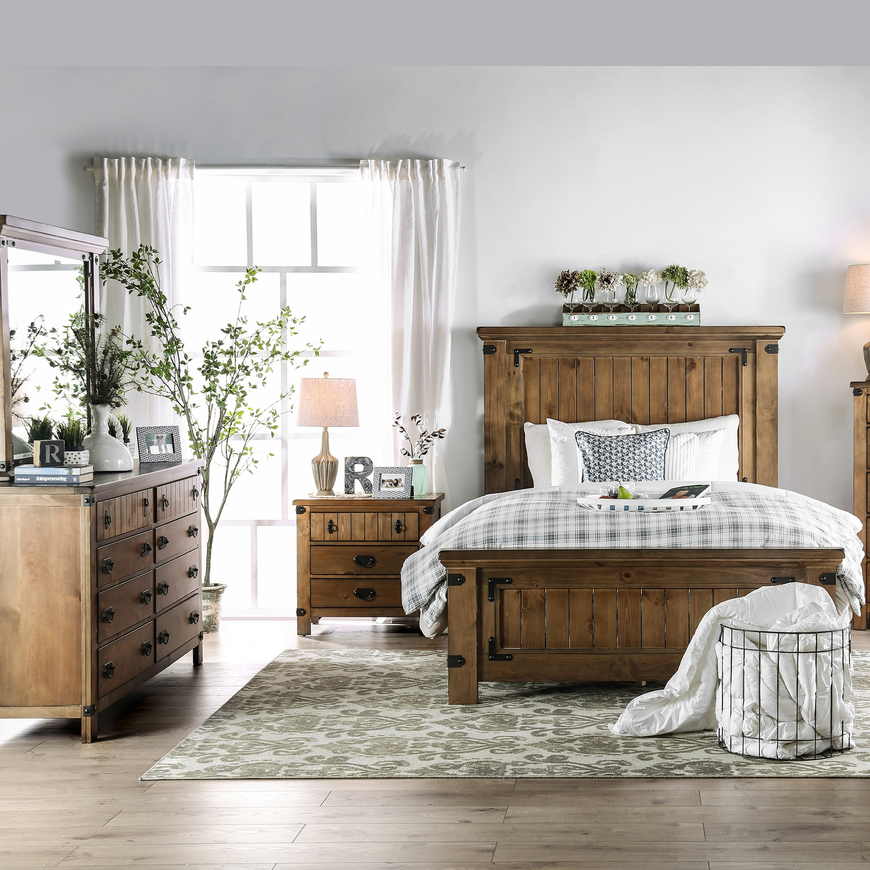 The Gray Barn Ee Country Style 4 Piece Bedroom Set