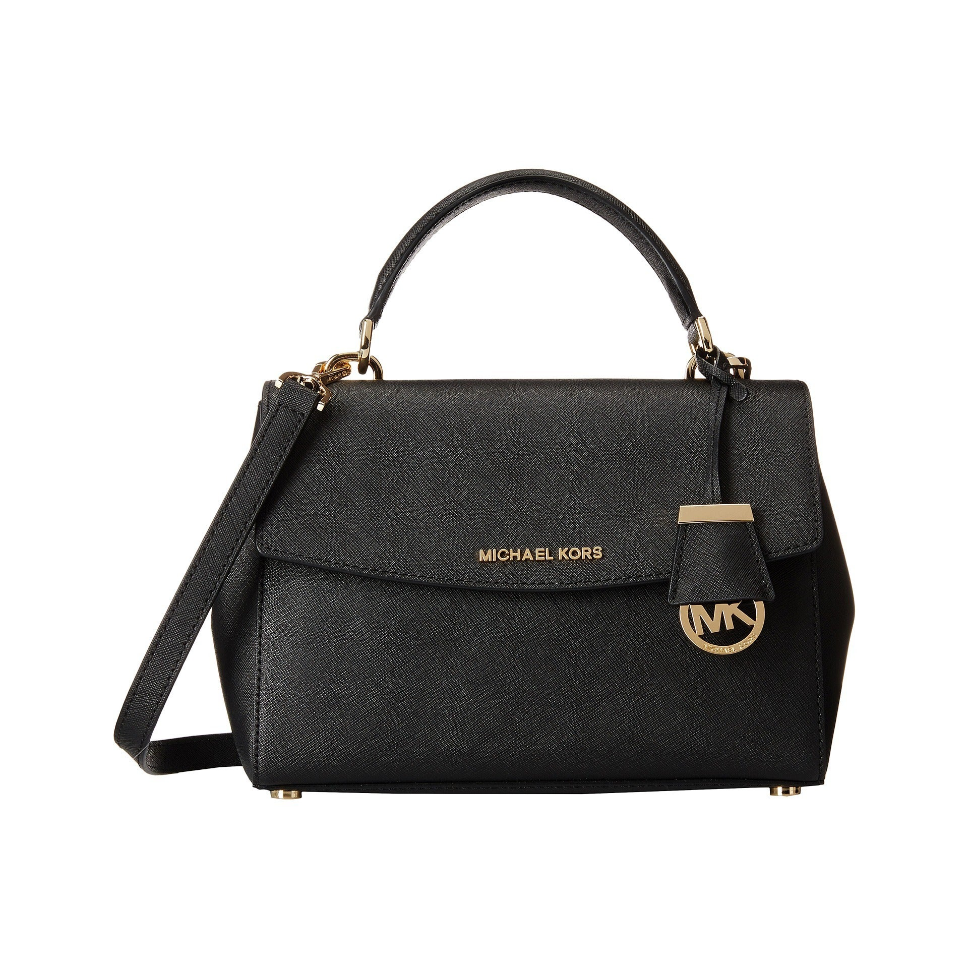 e50be4ab57b6 Shop Michael Kors Ava Small Top Handle Black Satchel Handbag - Ships To  Canada - Overstock.ca - 10266903