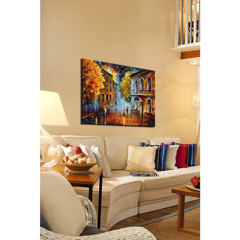 Leonid Afremov \'Etude In Red\' Giclee Print Canvas Wall Art - Free ...