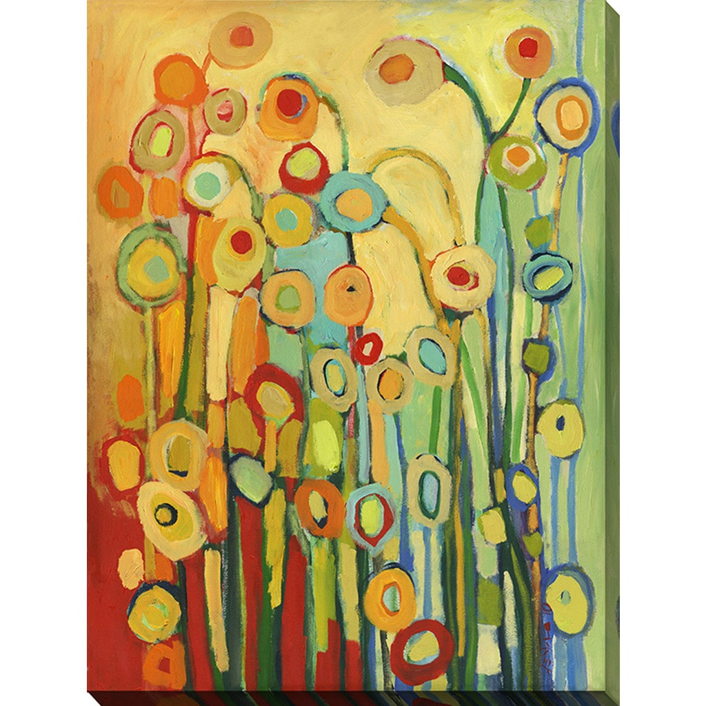 Jennifer Lommers \'Dance Of The Flower Pods\' Giclee Print Canvas Wall ...
