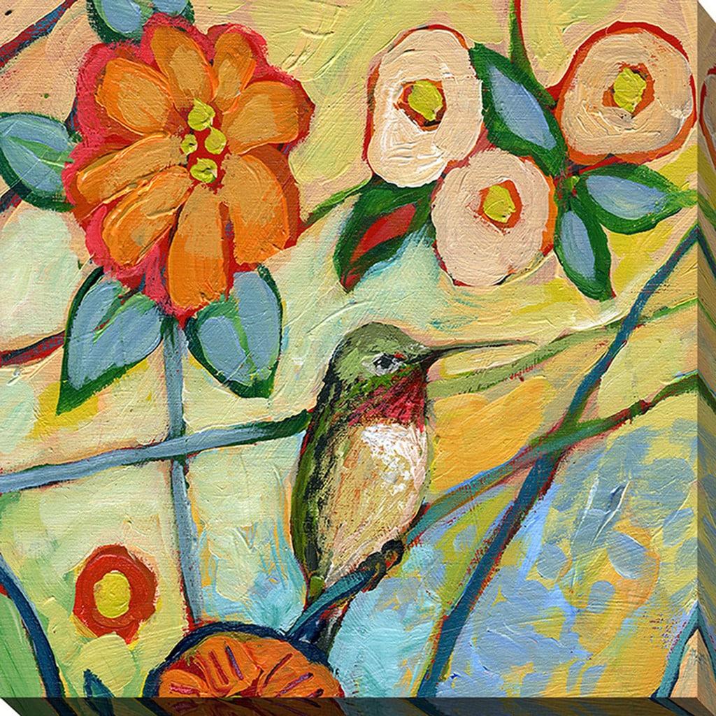 Shop Jennifer Lommers \'Bird XV\' Giclee Print Canvas Wall Art - On ...