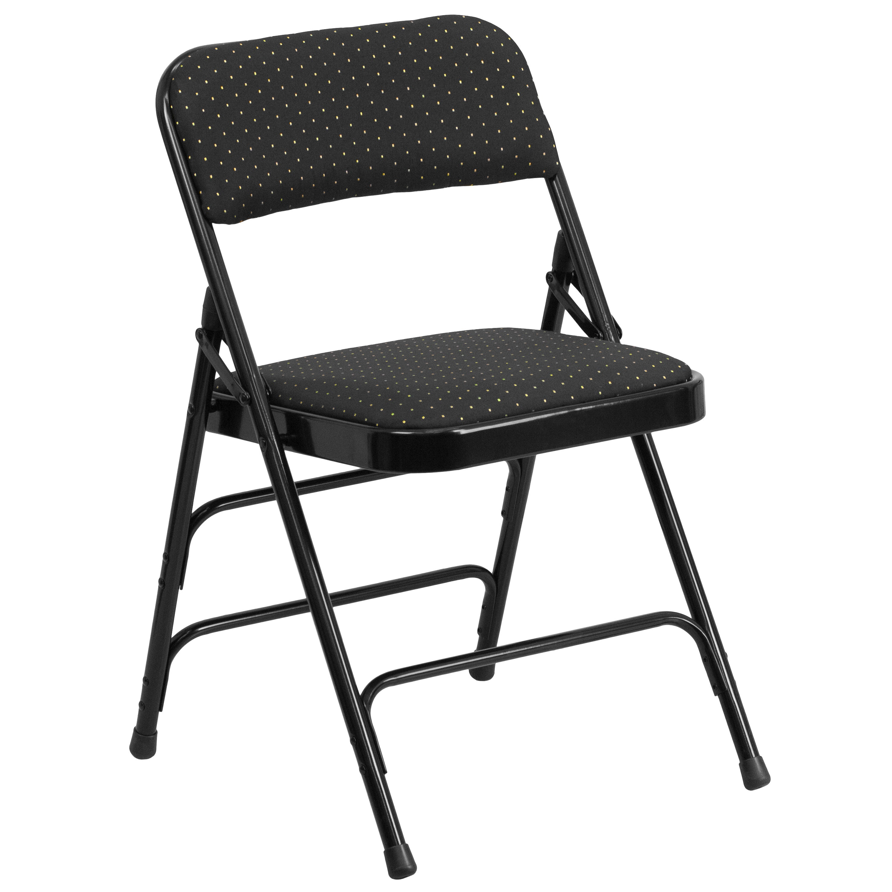 Cosmos Black Folding Chairs Free Shipping Today Overstock