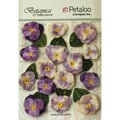 Botanica Vintage Velvet Pansies 1in To 1.5in 15/Pkg Lavender/Purple
