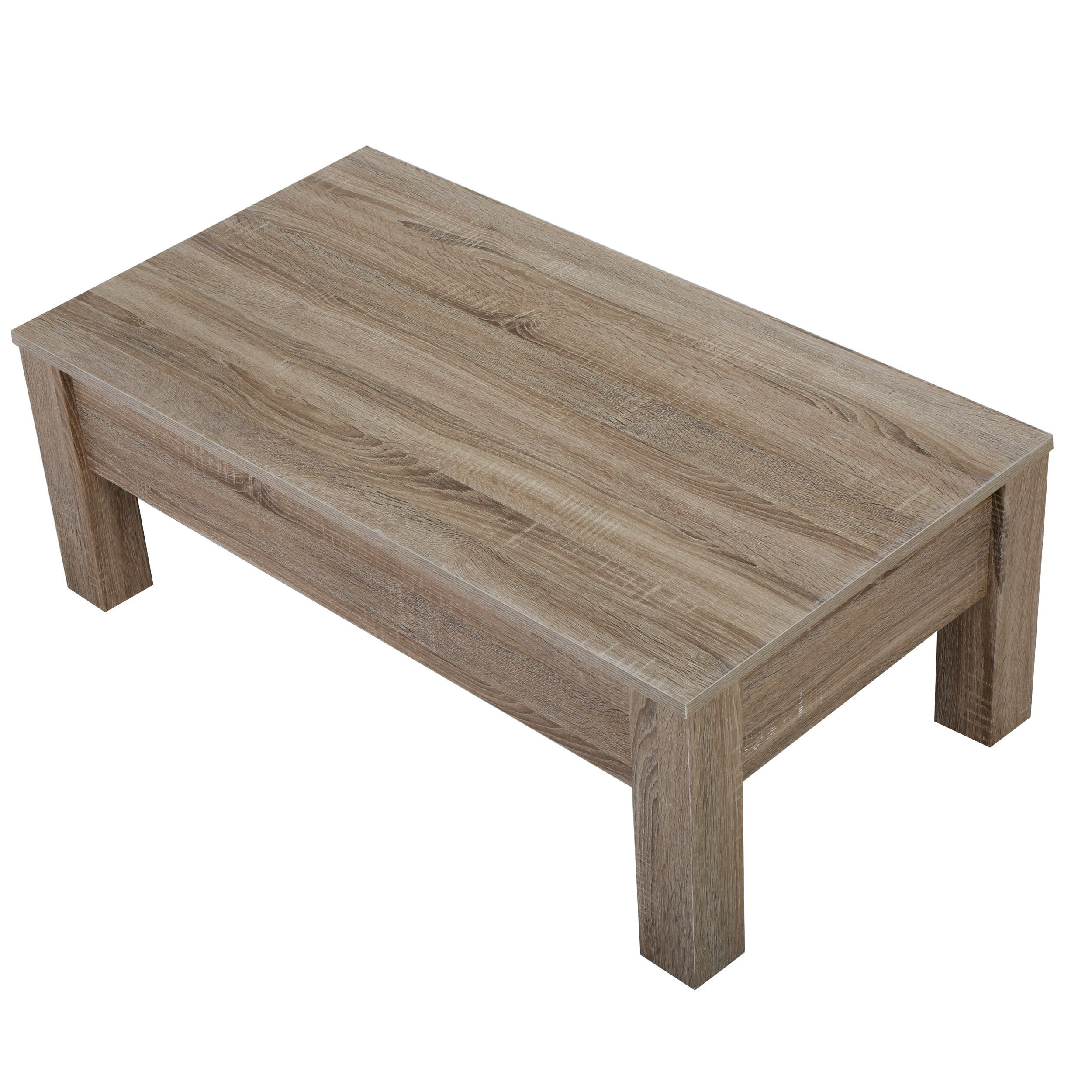 Wood Lift Top Storage Coffee Table by Christopher Knight Home