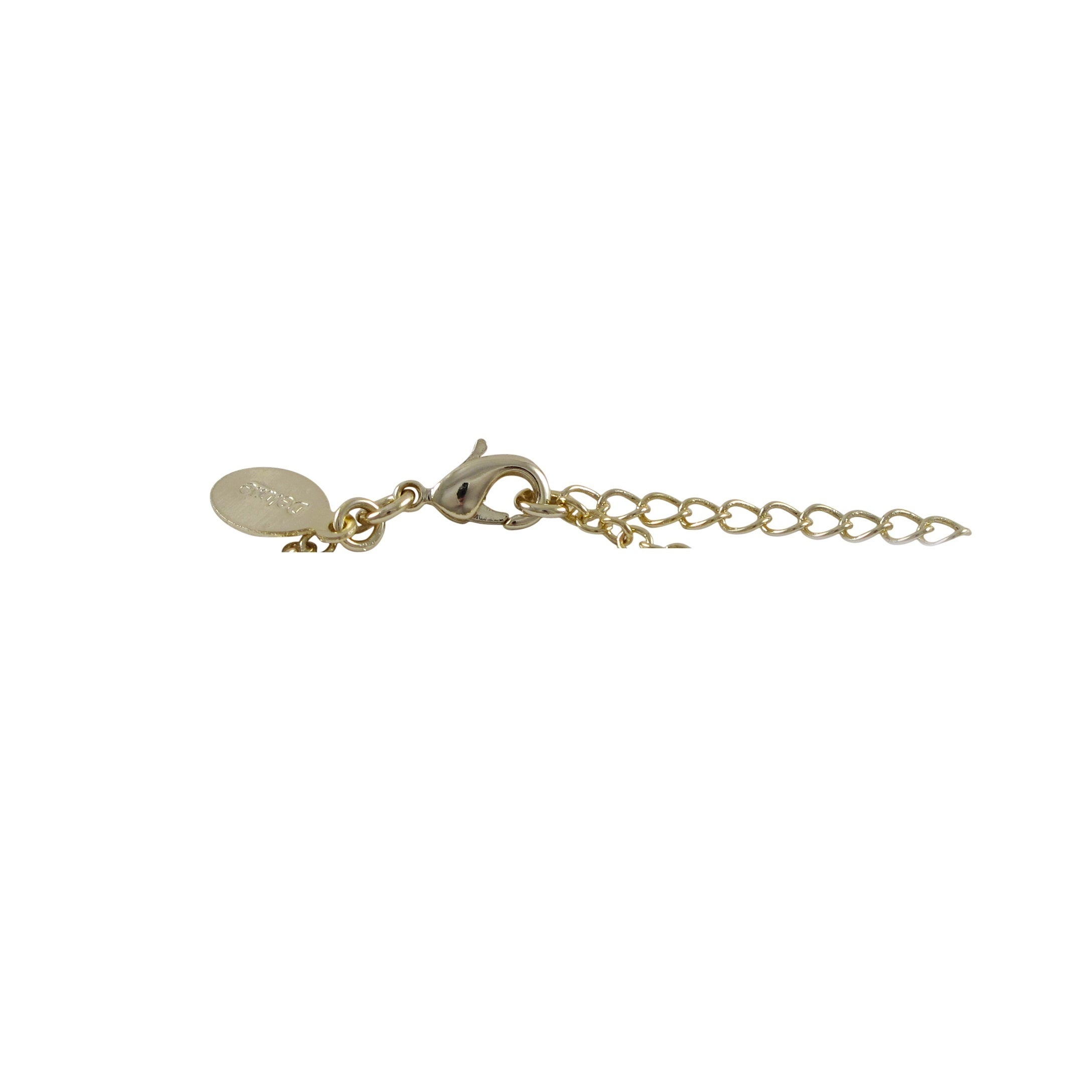 goldsmiths white rose gold bracelet charm pretty plated silver bracelets goldmark childrens uk and