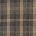 Brown/ Blue and Beige/ Large Plaid Country Upholstery Fabric