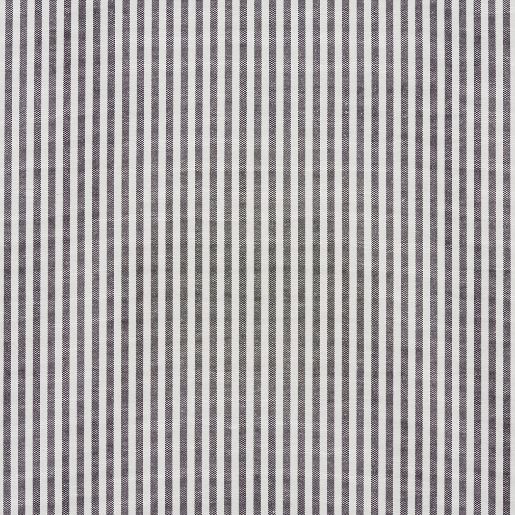 Shop Black And White Ticking Stripes Cotton Heavy Duty Upholstery