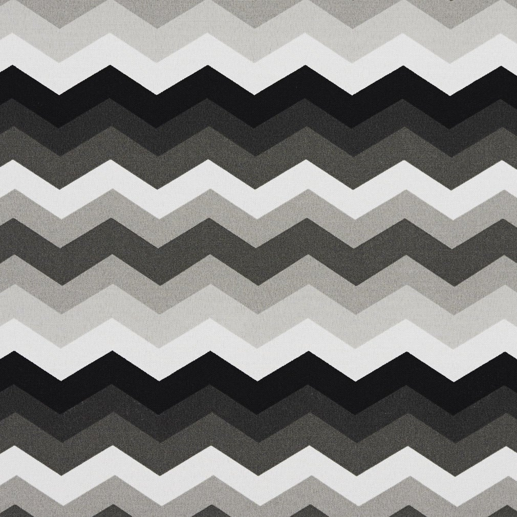 Shop Black Grey And White Chevron Flame Stitch Outdoor Upholstery