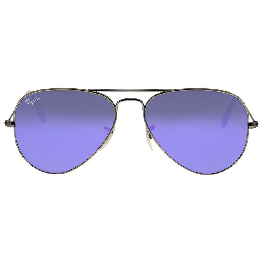 d63aa5653b Shop Ray-Ban RB3025 Sunglasses Bronze-Copper Frame Violet Mirror Lens - Free  Shipping Today - Overstock.com - 10289627