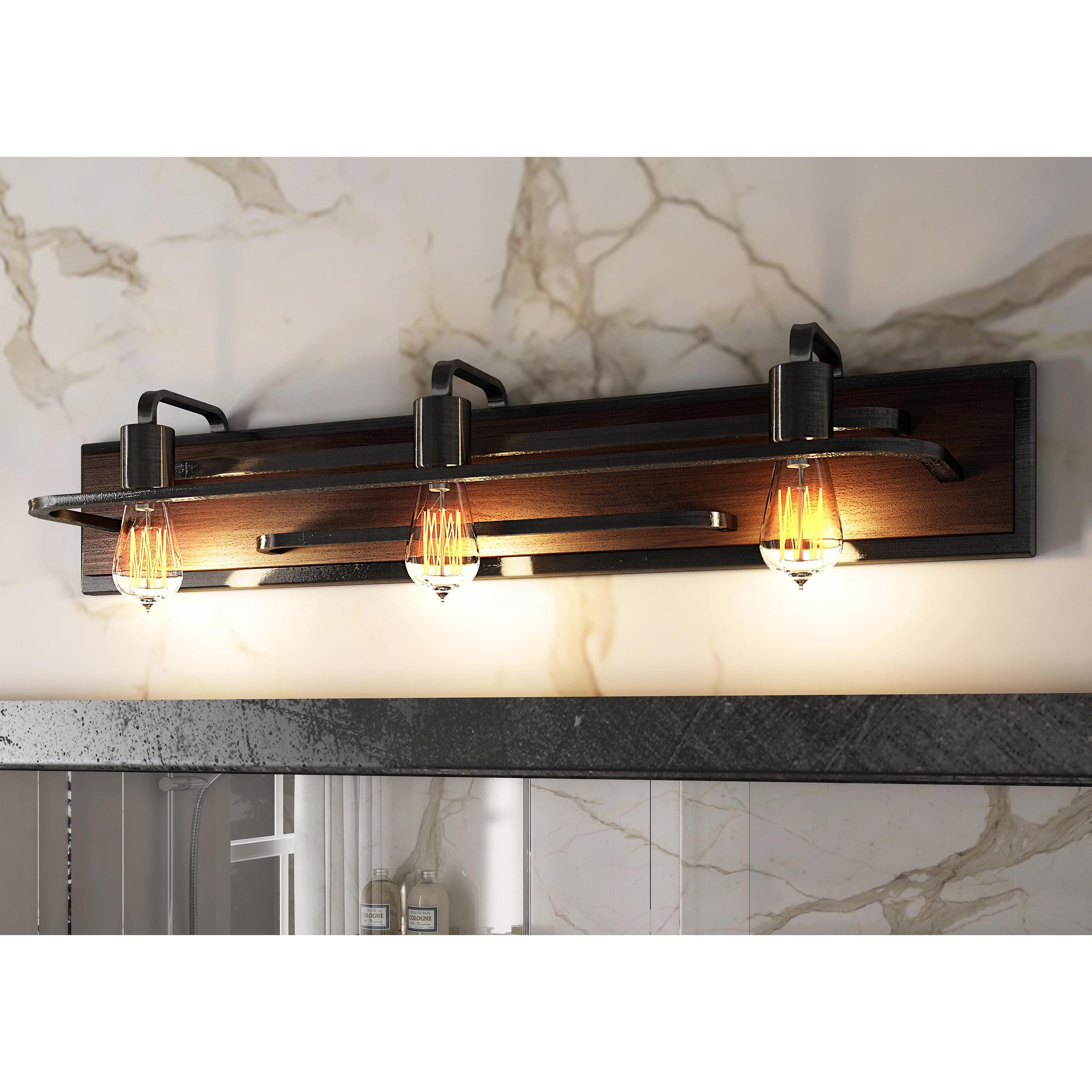 Shop Varaluz Lofty 3-light Vanity - Free Shipping Today - Overstock ...