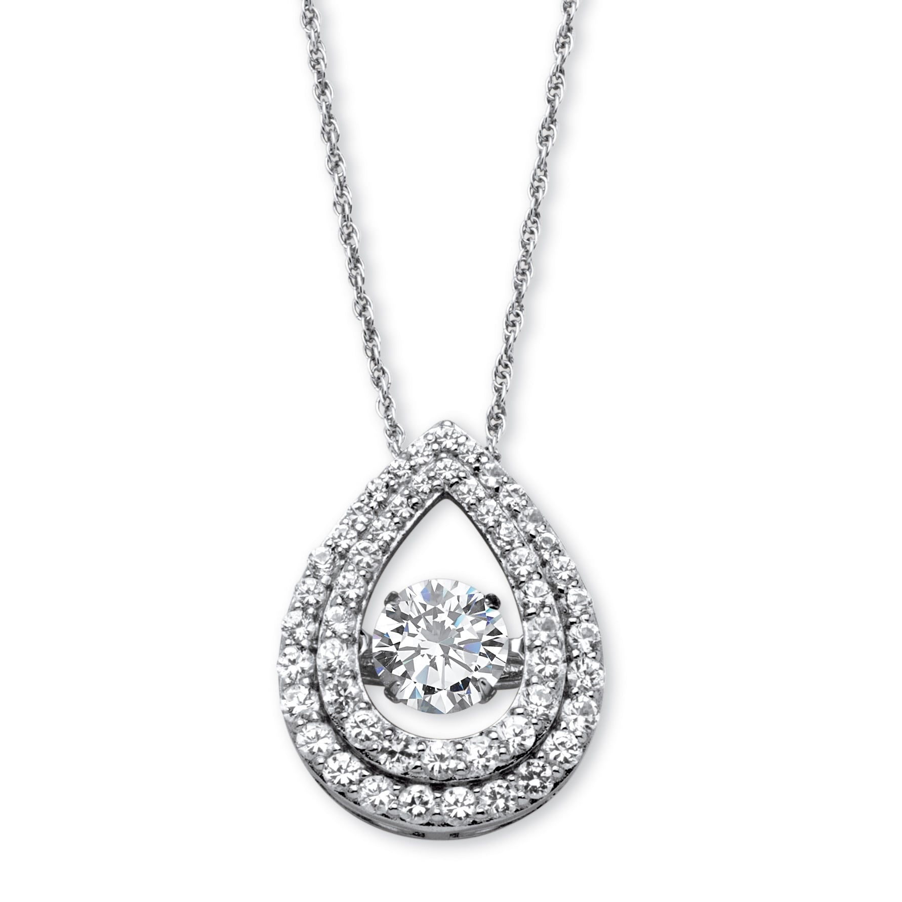 gold diamond solitaire pear fullxfull colombian white shaped necklace il pave pendant product emerald shape