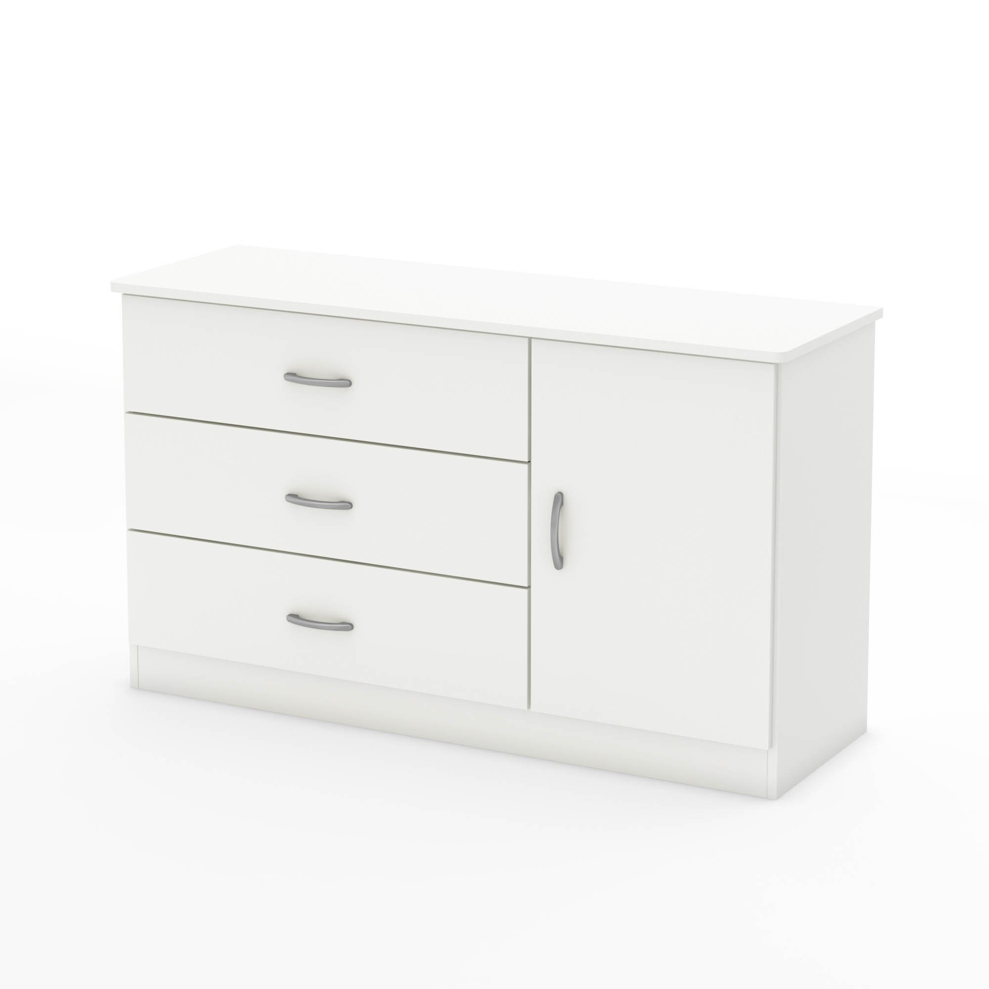 Charmant Shop South Shore Libra 3 Drawer Dresser With Door   Free Shipping Today    Overstock.com   10292284