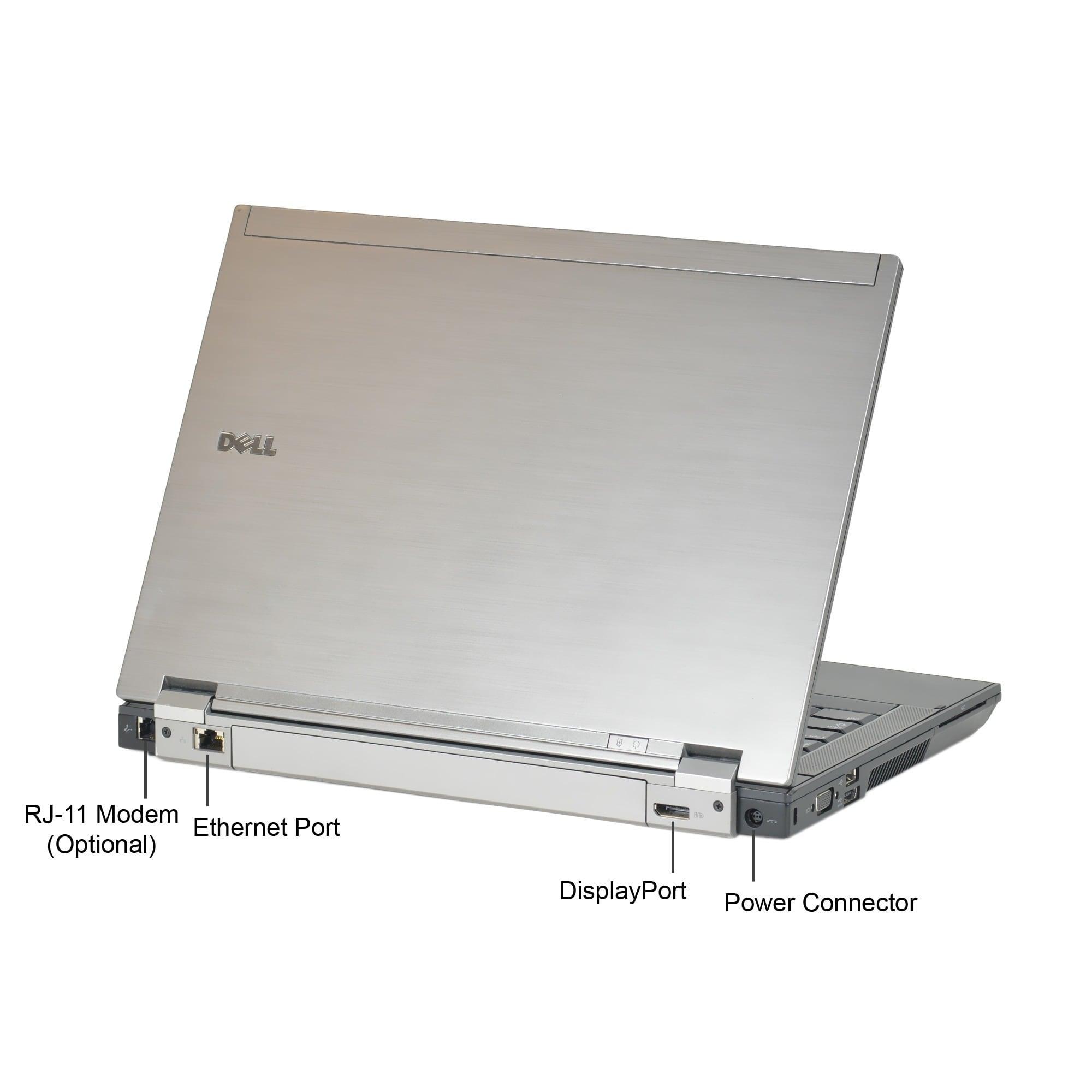 Dell Latitude E6410 Intel Core i5-520M 2 4GHz CPU 6GB RAM 128GB SSD Windows  10 Home 14 1-inch Laptop (Refurbished)