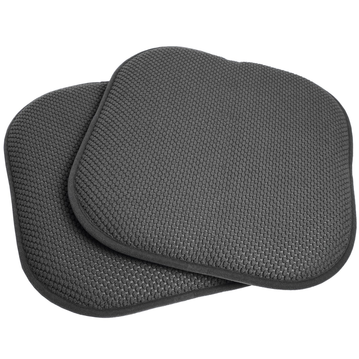 16x16 Memory Foam Chair Pad/Seat Cushion With Non Slip Backing (2 Or 4  Pack)   Free Shipping On Orders Over $45   Overstock.com   17409230