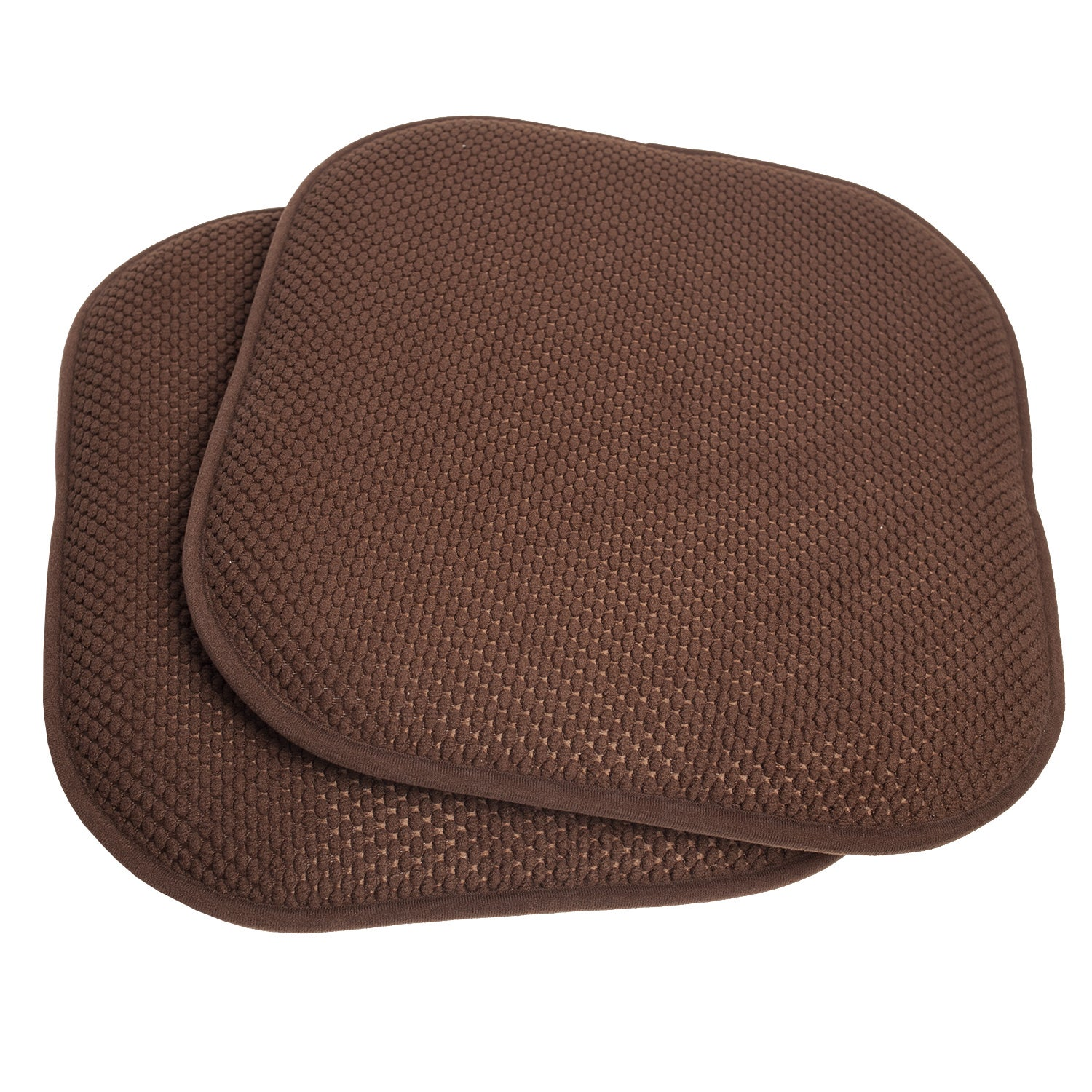 Shop 16x16 Memory Foam Chair Pad/Seat Cushion with Non-Slip Backing ...